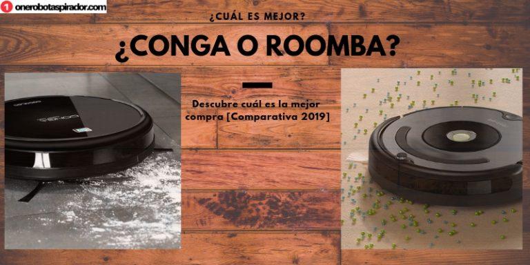 ¿Conga o Roomba? Todo lo que tienes que saber antes de comprar un robot aspirador
