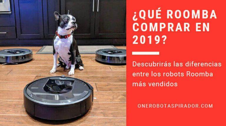 ¿No sabes qué Roomba comprar en 2021?